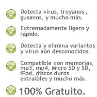 Mx One Antivirus USB[MU] Caracteristicas